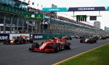 Earlier date for 2019 F1 Australian Grand Prix