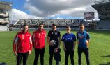 VIDEO: Kiwi Supercars drivers visit Eden Park