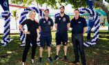 VIDEO: Red Bull HRT drivers mark Townsville milestone