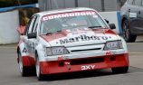 VIDEO: Replica Peter Brock VH Commodore laps Donington Park