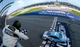 Harvick bags seventh win of season in Michigan