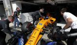 Parts shortage for Alonso after Belgium crash