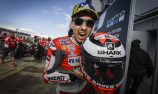 Lorenzo on pole in changeable Silverstone conditions