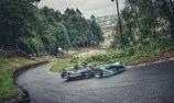 Evans breaks electric hillclimb record in Formula E car