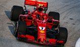 Raikkonen pips Hamilton in Singapore practice