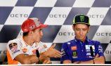 Rossi turns down Marquez handshake