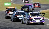 Super2 car trialling prototype transaxle at Sandown