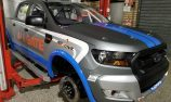 Driver change for second Ranger SuperUte