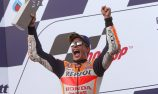 Marquez defeats Dovizioso in last lap thriller