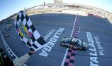 Almirola takes victory as Busch runs out of fuel