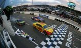 Logano wins thriller after moving Truex aside