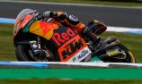 Binder quickest in Moto2 as Australians come to grief