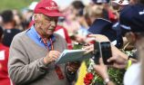 Lauda leaves hospital after lung transplant