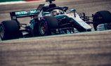Hamilton survives Ferrari charge in USGP qualifying
