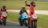 Herfoss wins Superbikes Race 3 with demon move