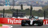 Hamilton dominates Japanese GP practice