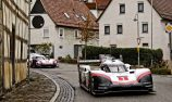 Webber drives Porsche 919 Hybrid EVO on public road