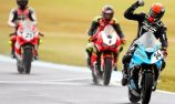 Allerton pips Bayliss in wet Superbikes thriller