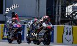Arenas wins frenetic Moto3 race at PI