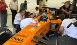 Johnson describes F1 experience as 'mind blowing'