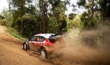 Ostberg leads, Mikkelsen crashes in eventful Rally Aus start
