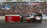 Tanak extends lead after wet Super Special