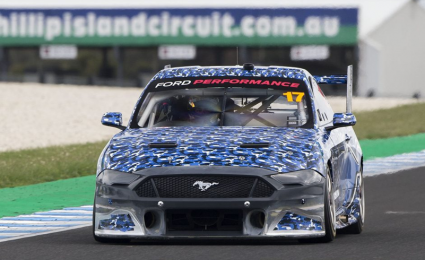 Mustang completes Supercars homologation tests