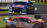 Whincup fastest, McLaughlin in wall in Pukekohe Practice 2