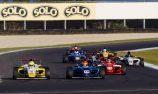 Heavily condensed calendar for 2019 Formula 4 season