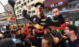 VIDEO: Ricciardo says farewell to Red Bull