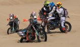 Paraplegic rider learns about teamwork at Dakar