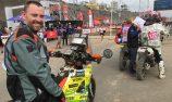 James Ferguson doing it all by himself at Dakar Rally