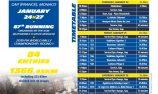 Michelin Racecard: Rallye Monte-Carlo