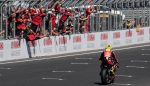2019-02-23 Alvaro Bautista ..first victory for the Ducati Panigale V4R in world superbike