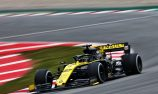 Hulkenberg fires Renault to the top on final day