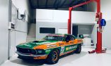 Johnson reveals new look for TCM Mustang
