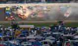 Hamlin wins Daytona 500 crash-fest