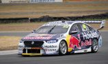 New ECU, car gremlins for Whincup at QR shakedown