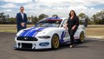 Supercars CEO, Sean Seamer and Ford Australia and New Zealand, President and CEO Kay Hart