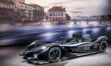 Mercedes shows off 'teaser' livery for Formula E car