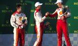 Coulthard: 'Good to be back' on podium