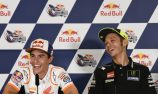 Marquez likens Rossi handshake to kissing a girl