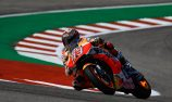 Marquez takes pole in America as Dovizioso misses Q2