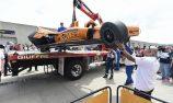 Alonso, Rosenqvist crash on second day of Indy 500 practice