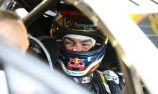 Bonus track running for Lowndes at Winton