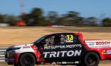 SuperUtes contender sidelined after driving with broken ankle