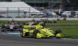 Pagenaud steals Indy road course win from Dixon
