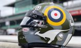 Davison honours airman grandfather with Indy 500 helmet