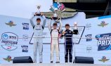 Eves edges McElrea in USF2000 on Indianapolis road course