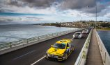 VIDEO: TCR cars cross San Remo Bridge on way to the Island